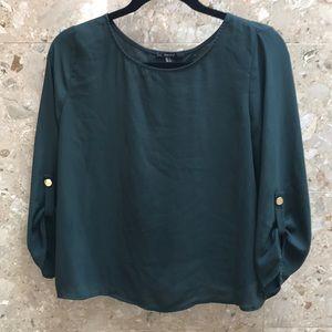 Forever21 cross back blouse